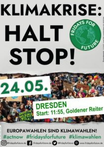 Fridays for Future Dresden 24.5. 2019